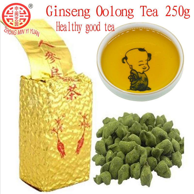 Hot Sale ! 2019 Spring 250g Taiwan Dongding GinSeng Oolong Tea