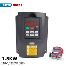 VFD 110V Frequency-Input Phase-1 380V Variable 220V From-Rattm-Motor 7A