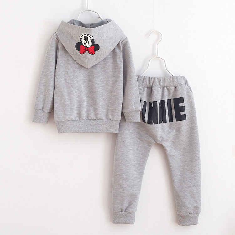 Goocheer 2Pcs เสื้อ Sweatsuit + กางเกง Oufits 2-7Y เด็กฝ้ายเสื้อผ้าเด็กทารกเสื้อผ้าเด็ก