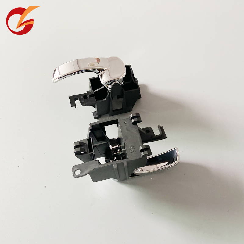 Utilizzare per nissan navara D40 frontier 2005-2015 chrome porta maniglia interna anteriore interna sinistra maniglia maniglia posteriore