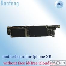 Raofeng Замена нет лицо ID для iphone XR материнская плата разблокированная для iphone xr материнская плата 128 ГБ с чипами логическая плата
