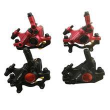 HB-100, комплекты тормозов для горного велосипеда, передняя и задняя линия, гидравлический дисковый тормоз, MTB тормоз для дорожного велосипеда, суппорты, левый и правый