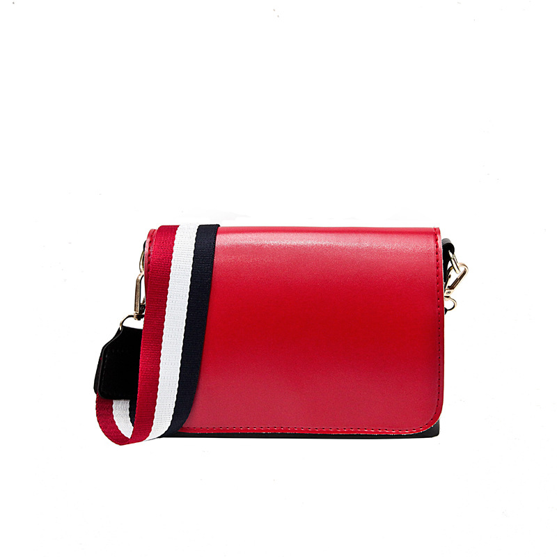 Three-color Shoulder Strap Messenger Bag Fashion Campus Network Red Canta Woman Ladies Luxury Bags 2019