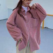 Женская Вельветовая куртка однотонная однобортная рубашка с