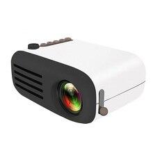 YG300 YG320 Upgrade YG200 Mini kieszonkowe z podświetleniem LED projektor domowy Beamer dzieci prezent USB HDMI wideo przenośny projektor opcjonalna bateria