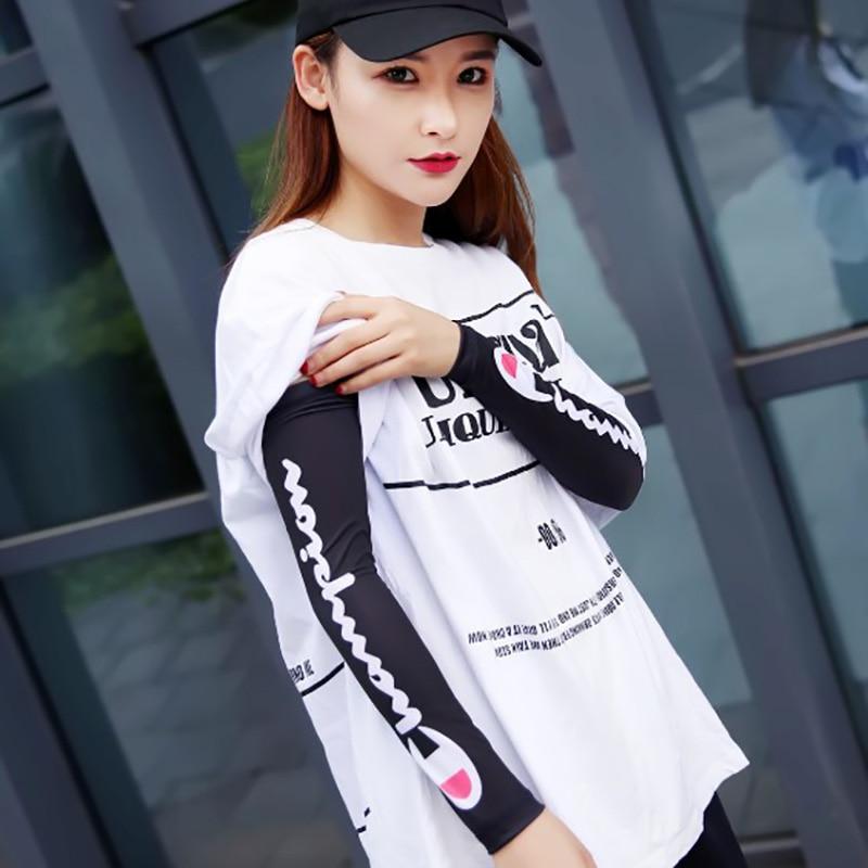 1 PCS Arm Sleeves Latest Model Sun UV Protection Elastic Summer Ice Silk Fabric Sleeves Sport Fitness Protective Elbow Sleeves
