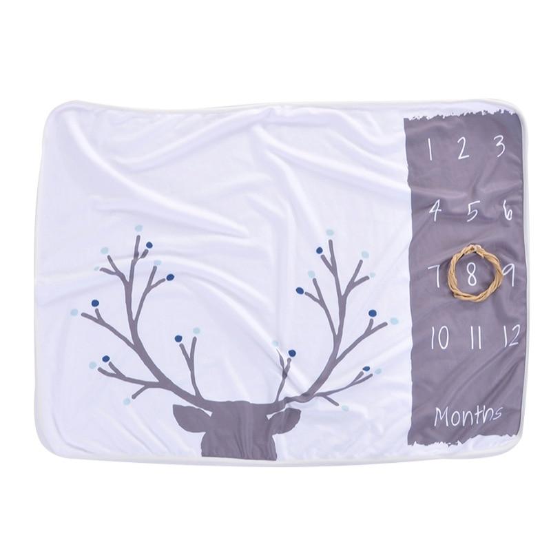 Детское одеяло, фон, одеяло, новорожденные реквизиты для фотографии, младенческий ковер для маленьких мальчиков и девочек, реквизит для фотосессии, аксессуары для фотосессии - Цвет: G4-102X76CM