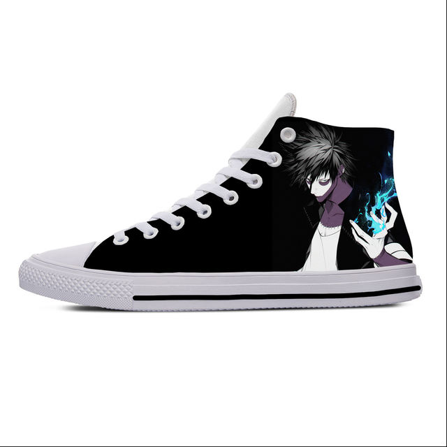 MY HERO ACADEMIA THEMED HIGH TOP SHOES (20 VARIAN)