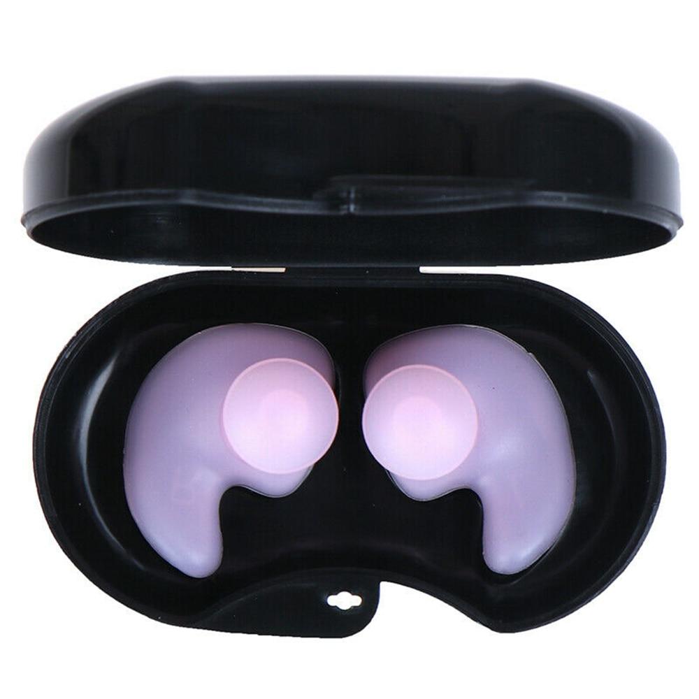 Мягкие силиконовые затычки для ушей многоразовые профессиональные музыкальные затычки для ушей Шумоподавление для сна-3