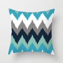 Наволочка nanacoba с геометрическим рисунком наволочка для подушки