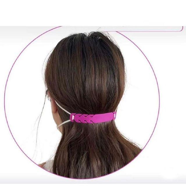 Face Mask Ear Hooks Extension Buckle  Kids Adults Adjustable Earache Fixer Anti-Slip Mask Ear Grip Extension Hook Mask Holder 4