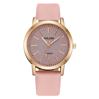 2020 New Women Watch Luxury Brand Casual Leather Belt WristWatch Fashionable Simple Large Dial Ladies Quartz Watches reloj mujer 2017 hot sale women fashion casual wristwatches brand luxury watches women sky clock dial leather belt quartz watch reloj mujer