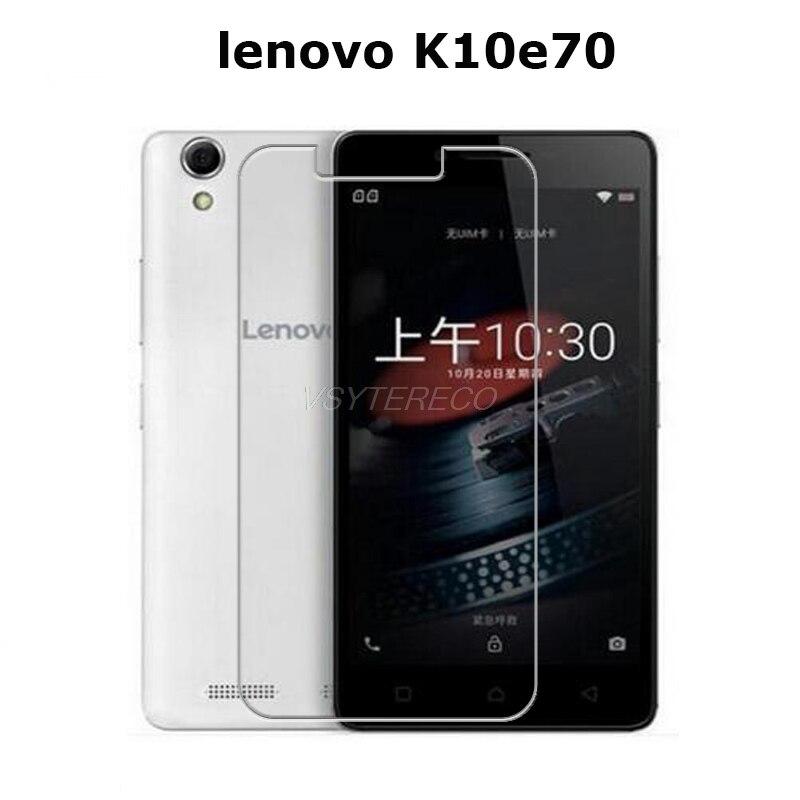 Закаленное стекло для Lenovo K10 e70 K10e70, 2 шт., Оригинальная защитная пленка 2.5D 9H, Взрывозащищенная Защита экрана для K 10 E 70