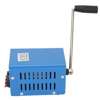 20W Generator przenośny wysokiej mocy ręczny Generator ładowania 2000 obr min USB ładowanie awaryjnego alternatora Dynamotor dla wiatru tanie i dobre opinie Other