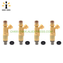 CHKK-CHKK 23250-74220 23209-74220 fuel injector for TOYOTA Altezza Gita SXE10 2.0L 3SGE 1998-2005 540cc fuel injector 23250 74200 2325074200 for japanese car sxe10 is200 rs200 celica mr2 st205 3sge 3sgte sw20 232
