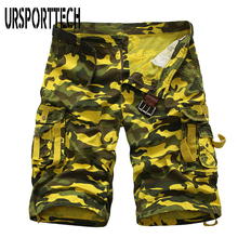 2020 New Arrivals Summer Mens Military Cargo Shorts Camouflage Camo Cargo Shorts Mens Casual Loose Work Short Pants Plus Size 38