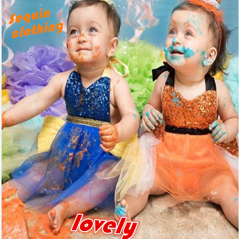 Niñas bebé lentejuelas malla vendaje Siamés escalada traje festival Fiesta ropa algodón