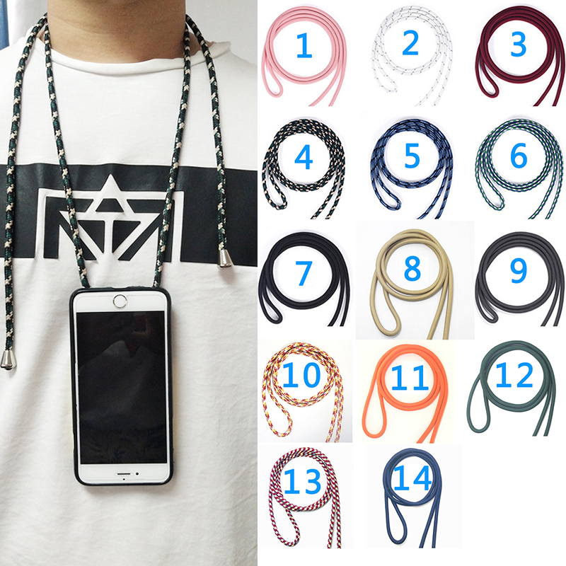 Cover for Xiaomi Mi Mix Max 2 2S 3 Pro Global Black Shark Pocophone F1 Lanyard Necklace Shoulder Neck Strap Rope Phone Case(China)