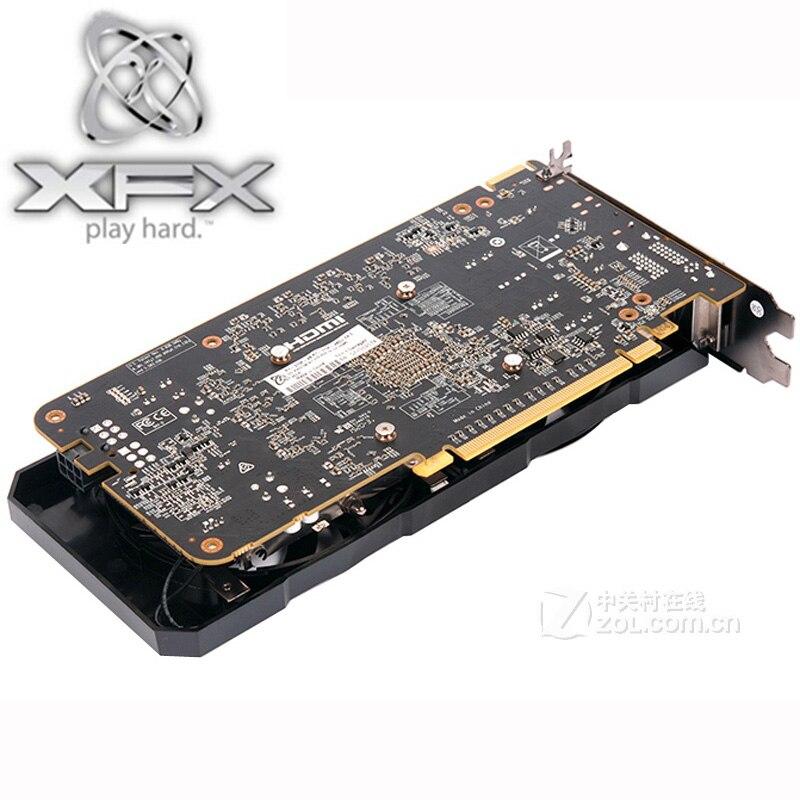Видеокарта XFX R9 370 2 Гб, 256Bit GDDR5 для AMD R9 300 серии карт R9370 2 Гб HDMI DVI Radeon R9 370 1024SP, б/у-5
