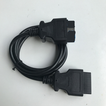 Promotions! High Quality 16 Pin Male To 16 Pin Female OBD 2 OBD II Extension Factory OBD2 Adapter Connector 16pin to 16pin image