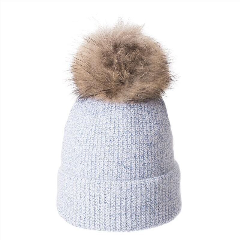 Angola Rabbit Fur knitted Hat Beanie Winter Hat For Women Bonnet Girl 39 s Hat Autumn Female Cap Keep Warm in Men 39 s Skullies amp Beanies from Apparel Accessories