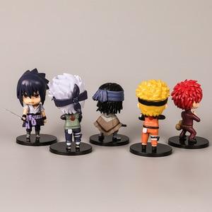 Image 4 - Naruto Ninja Hands Doll Car Accessories for Girls Ornaments Dashboard Decoration Interior Pendant Hanging Sasuke Kakashi