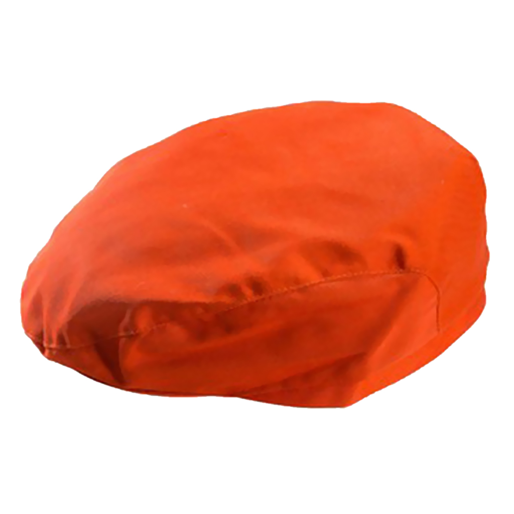 Chef Hat Cotton Cook Cap Beret Work Wear Orange Hotel Restaurant Bar