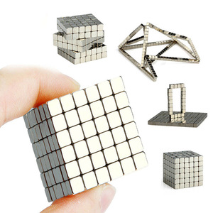 wholesale Magnet Metal Balls 5mm 216pcs/set Magnetic stick Building Blocks Construction Designer Creative Educational Toys Kids(China)