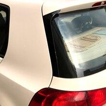 Стикеры для спойлера заднего бокового крыла, Накладка для Volkswagen Golf 6 MK6 (не подходит для GTI и R), аксессуары для стайлинга автомобиля