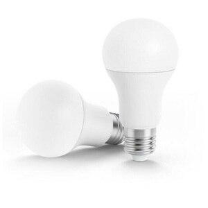 Image 2 - מכירת Youpin פיליפס חכם לבן LED E27 הנורה אור APP WiFi מרחוק קבוצת בקרת 3000k 5700k 6.5W 450lm 220 240V 50/60