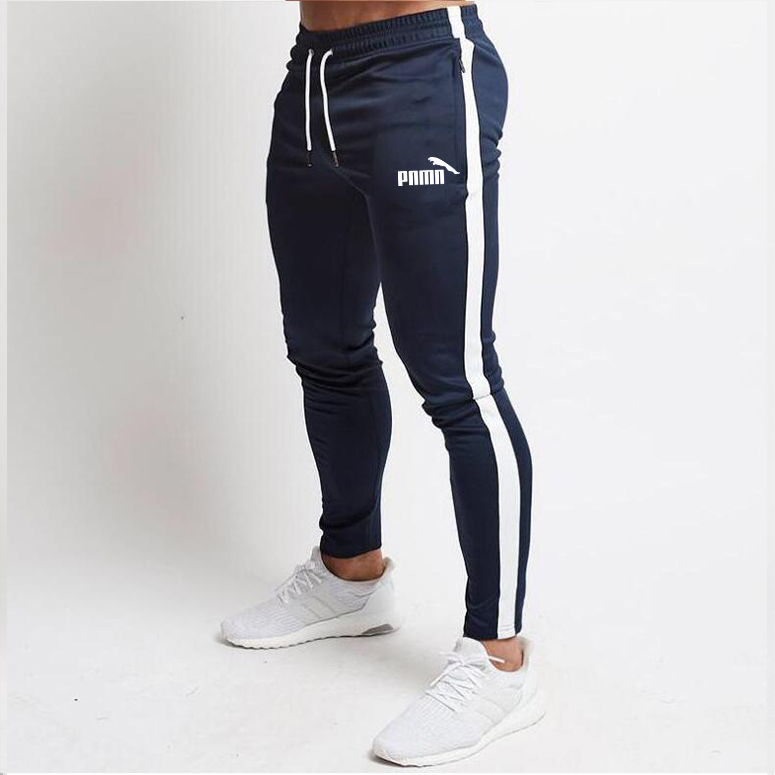 Men Joggers Slim Fit Soccer Sweatpants Cotton Workout Running Tights Sport Trousers 2020 Spring Men's Gym Training Jogging Pants
