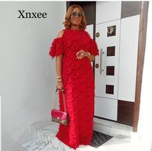 africa style floor length  African Women clothing Dashiki fashion Special wool fabric loose long dress size wedding elegent