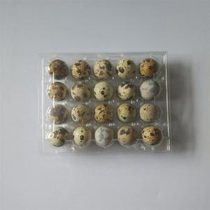 Image 5 - 50 個 20 グリッドウズラ卵トレイプラスチック透明卵ディスペンサーホルダー卵容器包装ボックス