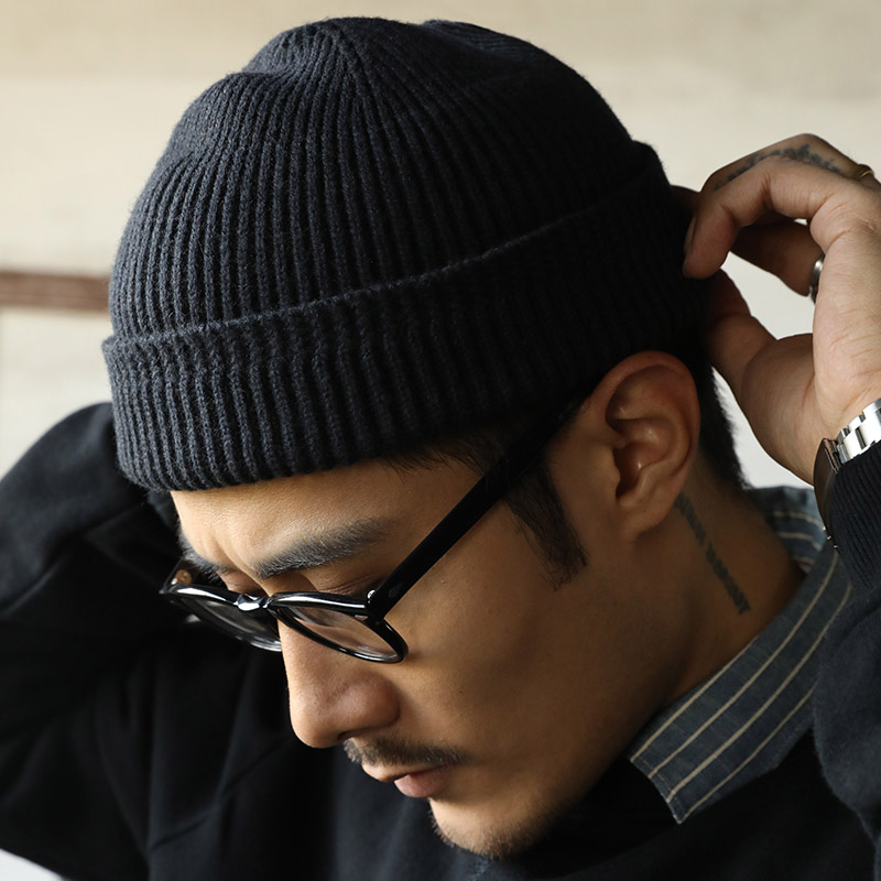100% Wool Knit Tight-fitting WW2 A4 Watch Cap