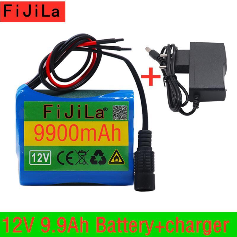2020 Новый 12V 9900mAh 18650 литий ионная аккумуляторная батарея для камеры видеонаблюдения 3A батареи + 12V EU US зарядное устройство + бесплатная доставка|Комплекты батарей|   | АлиЭкспресс