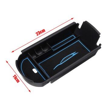 Dla Toyota 1pc podłokietnik konsoli środkowej pudełko z tackami Case wsparcie CHR 2016 2017 2018 DIY akcesoria części