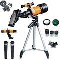 150X рефракционный астрономический телескоп с зажимом для телефона, открытый HD ночное видение 150X телескоп для детей, студенческий подарок, На...