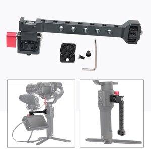 Image 5 - for Dji Ronin S SC ZHIYUN Weebill Crane 3 Gimbal Camera Monitor Stand Barcket with 1/4 Hot Shoe Mic Flash Light Stand Holder