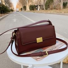 Torebki damskie torebki Crossbody torebki damskie torba na ramię 2021 torebki damskie skórzane torebki damskie modne torebki tanie tanio Fatasa Na co dzień torebka Torby na ramię Na ramię i torby crossbody CN (pochodzenie) Zipper hasp SOFT NONE Moda 114228