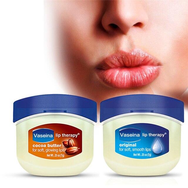 Lip Makeup Care Vaseline Lip Therapy Petroleum Jelly Lip Balm Original Cocoa Brulee 7g 0.25 Oz Lipstick 1