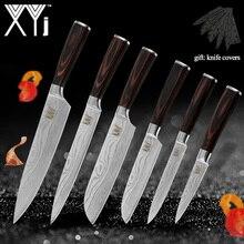 XYj кухонные ножи, нож из нержавеющей стали, инструменты, Новое поступление, цветов, деревянная ручка, инструменты для приготовления фруктов, овощей, мяса, аксессуары