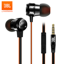 цена на JBL T280A+ 3.5mm Wired Earphone Stereo Bass Headset Sports Earbuds Handsfree with Mic Line Control for iPhone Android Smartphone