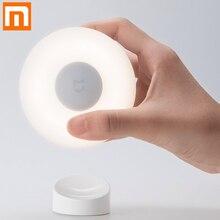 New Xiaomi Mijia Led Induction Night Light 2 360 Rotating Adjustable Brightness Infrared Smart Motion Sensor With Magnetic Base(China)