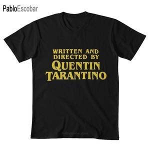 Quentin Tarantino T shirt written directed quentin tarantino director movies cult pulp fiction kill bill