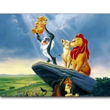 5d pintura diamante o rei leão diamante bordado dos desenhos animados broca completa 3d diy mosaico diamante decoração strass needlework ty638