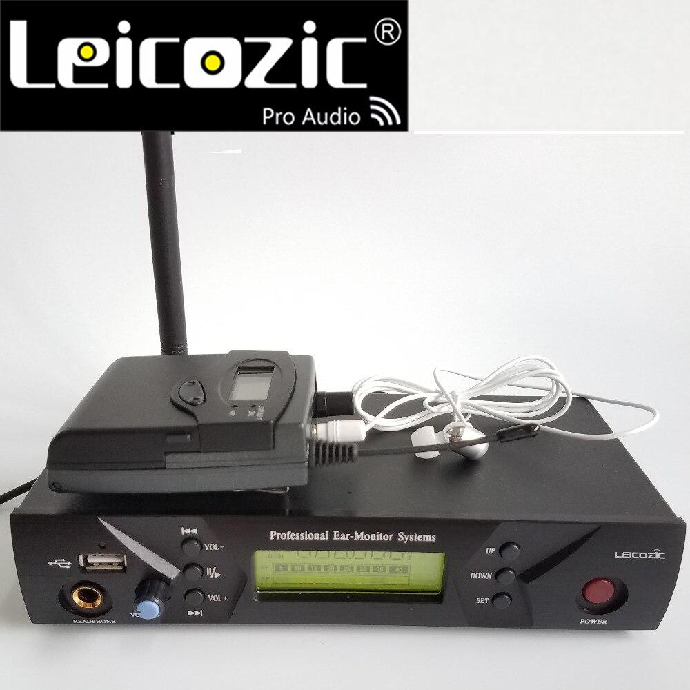 Leicozic BK510 Wireless w ucho-monitor systemu na etapie monitorowania dźwięku systemów w ucho monitor systemu osobisty monitor bezprzewodowy