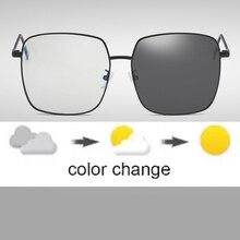 Anti Blue Rays Computer Glasses Women Men Blue Light Gaming Glasses Myopia Spectacles Prescription Optical Photochromic Sunglass