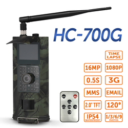 Suntek HC700G 3G SMS GSM 16MP 1080P caméra de piste de chasse Vision nocturne infrarouge repérage de la faune Surveillance sauvage suivi