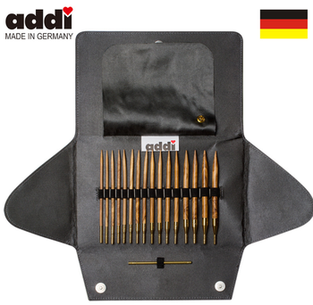 addi Click Nature Interchangeable Circular Knitting Needle Set 281-7 648-7 240-7 243-7  601-2 670-7 650-2 680-2 570-7