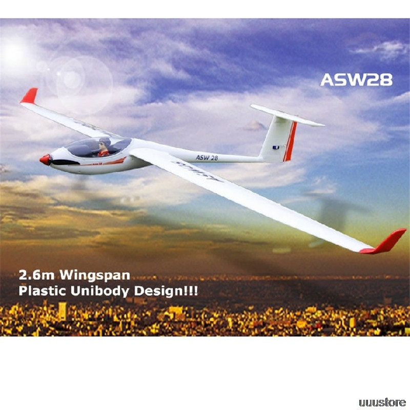 Volantex ASW28 ASW-28 2600mm Wingspan EPO Sailplane Glider RC Airplane PNP Aircraft Outdoor Toys Remote Control Models DIY image